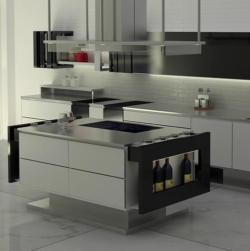 desain dapur 3d